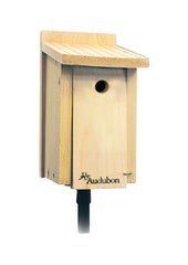 Audubon/woodlink - Cedar Wood Wren/chickadee House