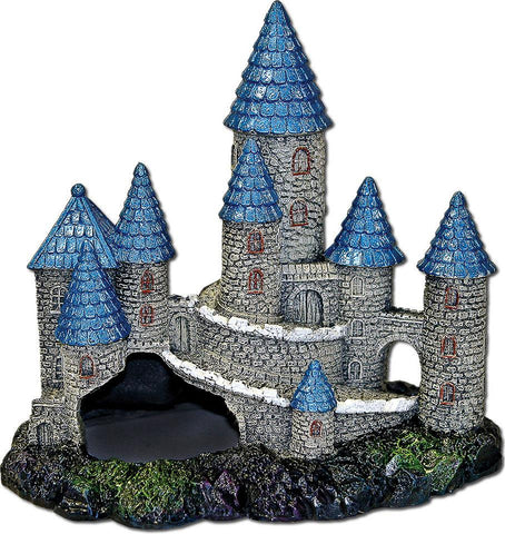 Blue Ribbon Pet Products - Exotic Environments Blue Spire Castle