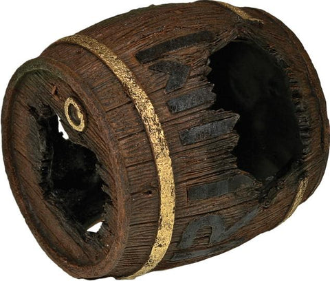 Blue Ribbon Pet Products - Exotic Environments Rum Barrel Horizontal