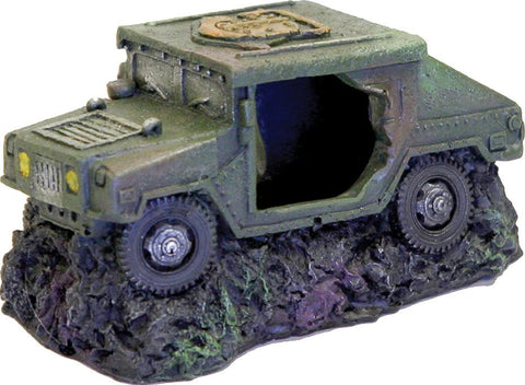 Blue Ribbon Pet Products - Exotic Environments Humvee With Cave