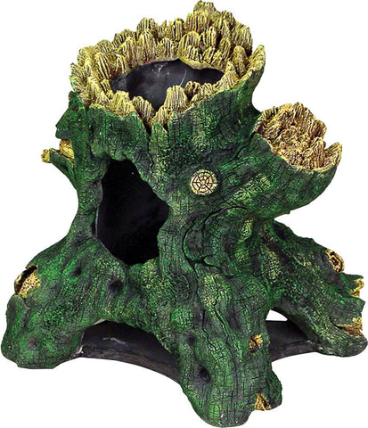 Blue Ribbon Pet Products - Exotic Environments Jumbo Hollow Tree Stump