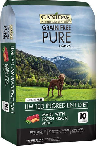 Canidae - Pure - Canidae Pure Land Formula Dry Dog Food