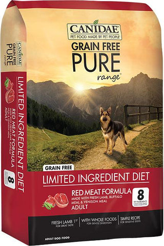 Canidae - Pure - Canidae Pure Range Red Meat Formula Dry Dog Food