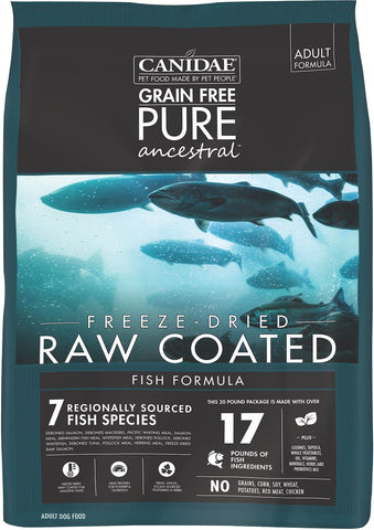 Canidae - Pure - Canidae Pure Ancestral Raw Coated Fish Dry Food