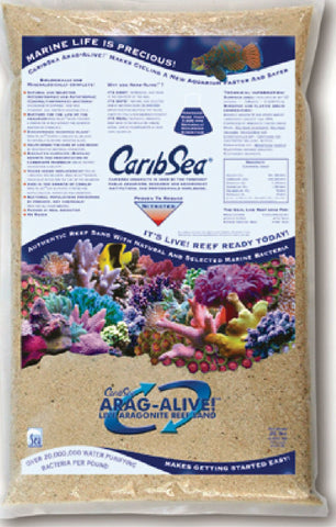 Caribsea Inc - Arag-alive Reef Sand Special Grade Reef (Case of 2 )