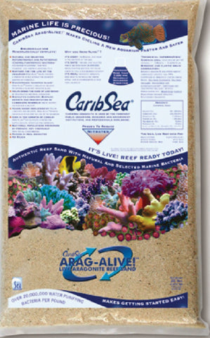 Caribsea Inc - Arag-alive Reef Sand Indo-pacific (Case of 2 )