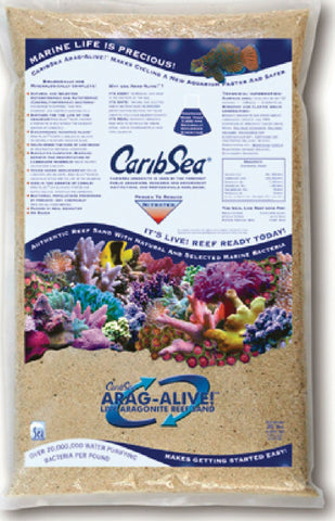 Caribsea Inc - Arag-alive Reef Sand Fiji (Case of 2 )