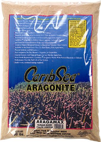 Caribsea Inc - Dry Aragonite Aragamax Sugar Sized Sand