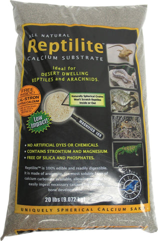 Caribsea Inc - Reptilite Smokey Sands (Case of 4 )