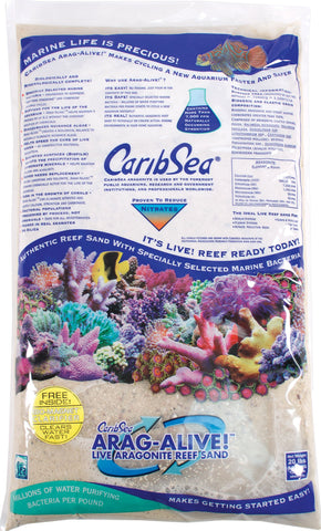 Caribsea Inc - Arag-alive Reef Sand Bimini (Case of 2 )