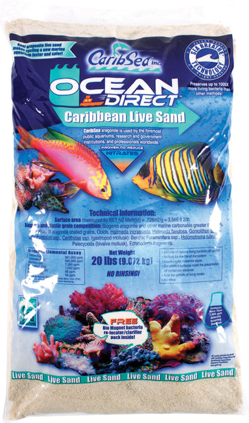Caribsea Inc - Ocean Direct Original Grade Natural Live Sand