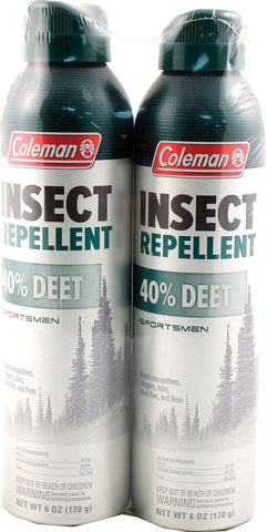 Wisconsin Pharmacal Co. P - Coleman 40% Deet Sportsmen Insect Repellent