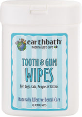 Earthwhile Endeavors Inc - Earthbath Tooth/gum Wipes