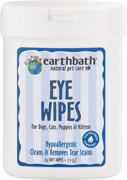 Earthwhile Endeavors Inc - Earthbath Hypoallergenic Eye Wipes