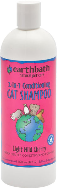 Earthwhile Endeavors Inc - Earthbath Cat 2in1 Conditioning Shampoo