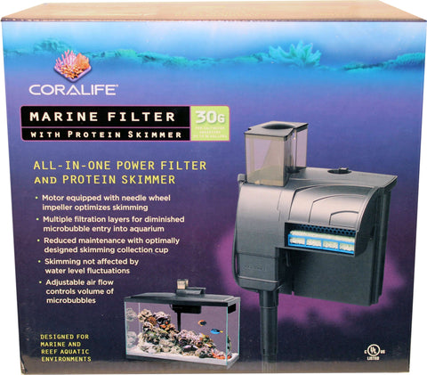 Coralife - Coralife Marine Filter With Protein Skimmer