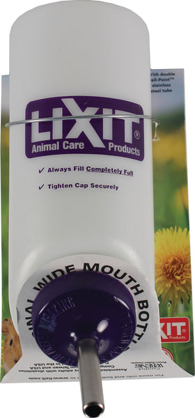 Lixit Corporation - Lixit Wide Mouth Small Animal Water Bottle
