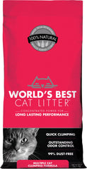 Worlds Best Cat Litter - Worlds Best Cat Litter Multiple Cat Formula (Case of 3 )