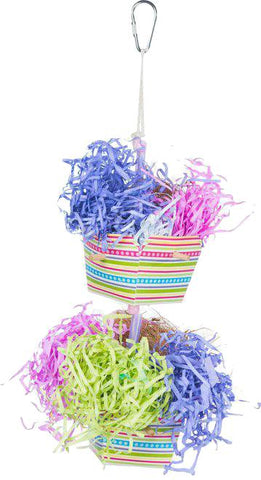 Prevue Pet Products Inc - Prevue Baskets Of Bounty Bird Toy