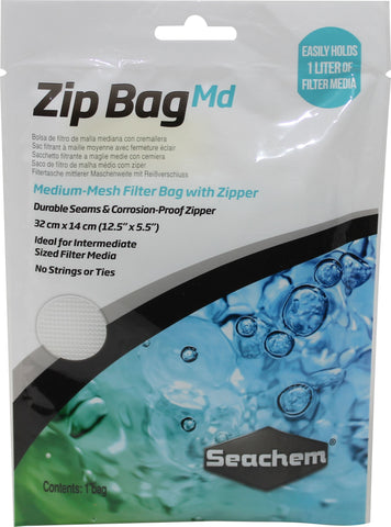 Seachem Laboratories Inc - Zip Bag Medium Mesh