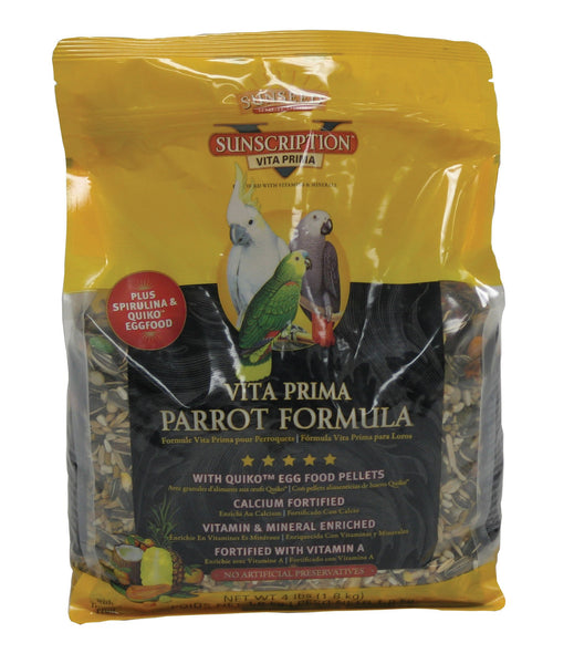 Sunseed Company - Vita Prima Sunscription Parrot Formula