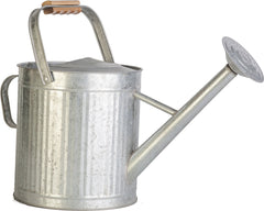 Panacea Products - Vintage Galvanized Watering Can With Wood Handle