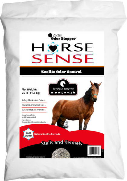 Absorbent Products Inc. - Horse Sense Zeolite Odor Stopper Crumble