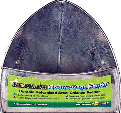 Ware Mfg. Inc. - Farmers Market Corner Cage Feeder For Poultry