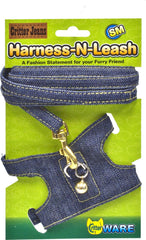 Ware Mfg. Inc. Bird/sm An - Critter Jeans Small Animal Harness-n-leash