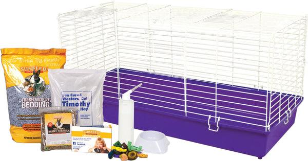 Ware Mfg. Inc. Bird/sm An - Home Sweet Home Complete Kit For Pet Rabbits