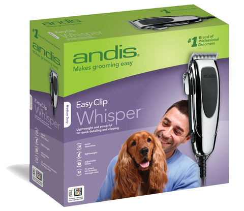 Andis Company - Easy Clip Whisper Clipper Kit For Pets