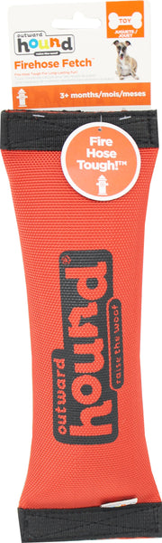 Petstages - Fire Hose Squeak N Fetch Dog Toy