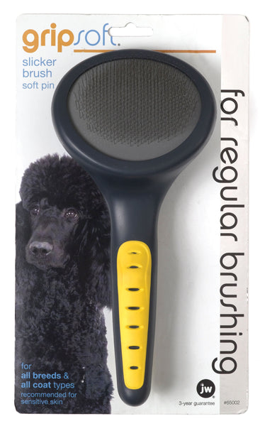 Jw - Dog/cat - Jw Gripsoft Soft Slicker Brush