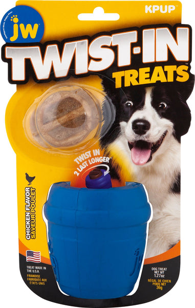 Jw - Dog/cat - Jw Twist-in Treats Toy & Treat