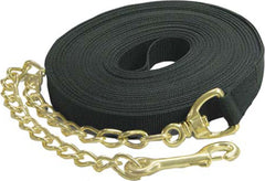 Horse And Livestock Prime - Lunge Line With Chain