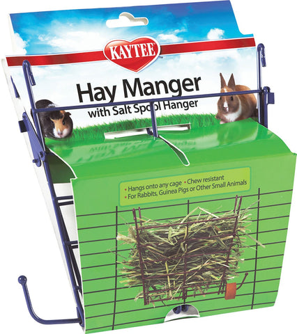 Super Pet - Hay Manger With Salt Hanger
