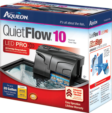Aqueon Products-supplies - Aqueon Quietflow 10 Filter