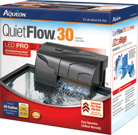 Aqueon Products-supplies - Aqueon Quietflow 30 Filter