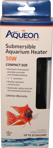 Aqueon Products-supplies - Aqueon Submersible Glass Heater