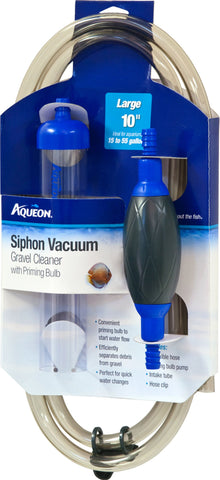 Aqueon Products-supplies - Siphon Vacuum Gravel Cleaner With Bulb