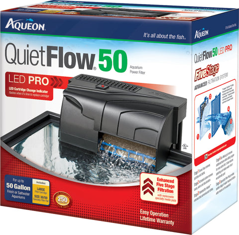 Aqueon Products-supplies - Aqueon Quietflow 50 Filter