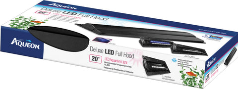 Aqueon Products - Glass - Aqueon Deluxe Led Full Hood