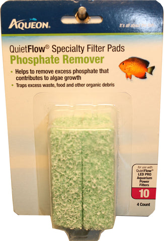 Aqueon Products-supplies - Aqueon Specialty Filter Pad - Phosphate Remover
