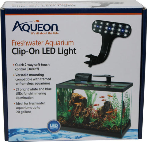 Aqueon Products-Glass-Aqueon Led Clip-on Freshwater Fixture