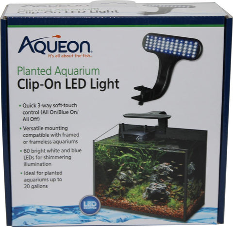 Aqueon Products-Glass-Aqueon Led Clip-on Planted Fixture