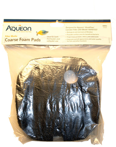 Aqueon Products-supplies - Quietflow Coarse Foam Pad