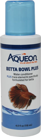 Aqueon Products-supplies - Betta Bowl Plus Water Care
