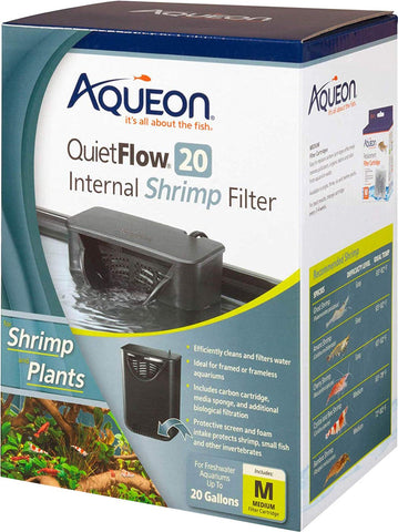 Aqueon Products-supplies - Internal Shrimp Filter