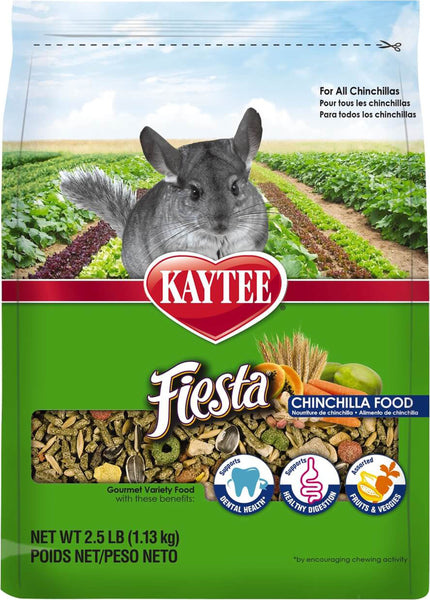 Kaytee Products Inc - Fiesta Max Chinchilla Food