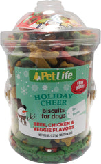 Triumph Pet Industries - Petlife Holiday Cheer Biscuits For Dogs